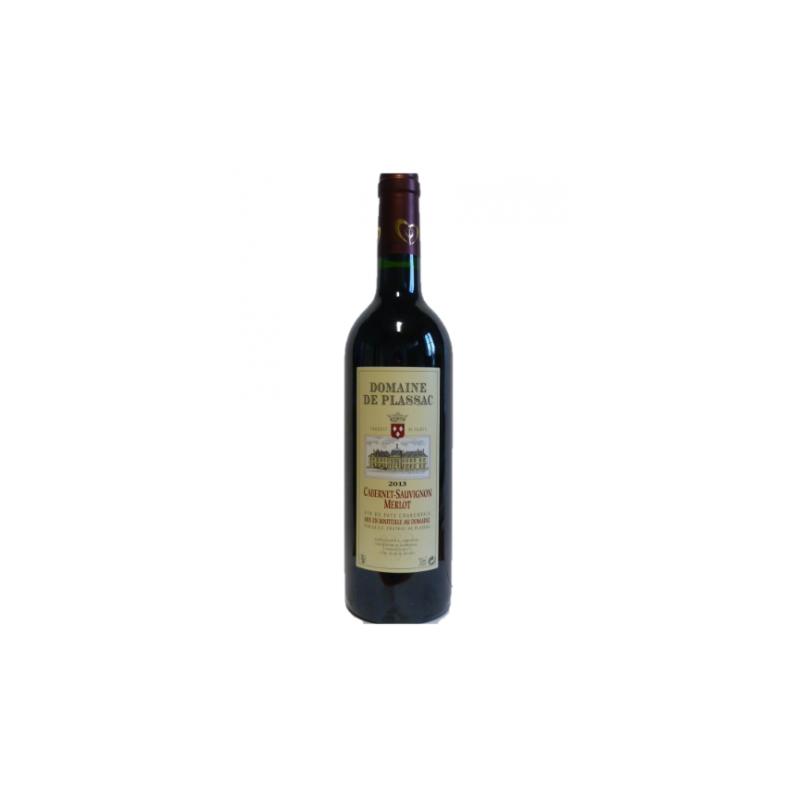 Vin de Pays Charentais rouge 2013 Château de Plassac