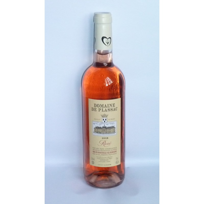 Vin de Pays Charentais rosé Château de Plassac